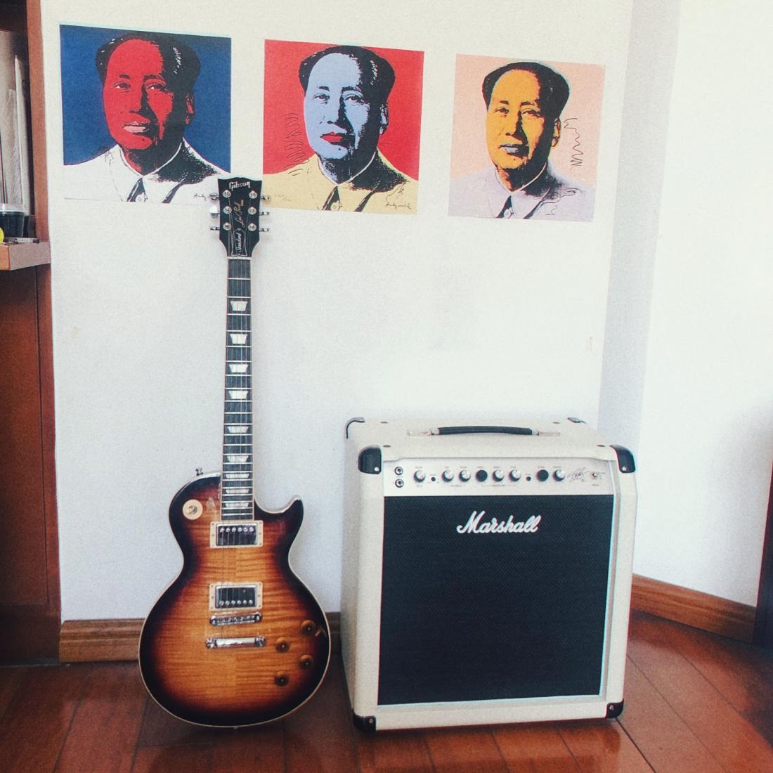 """我的卧室:摇滚乐与沃霍尔的""""Mao"""""""